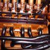 Точная копия двигателя Ferrari издерева